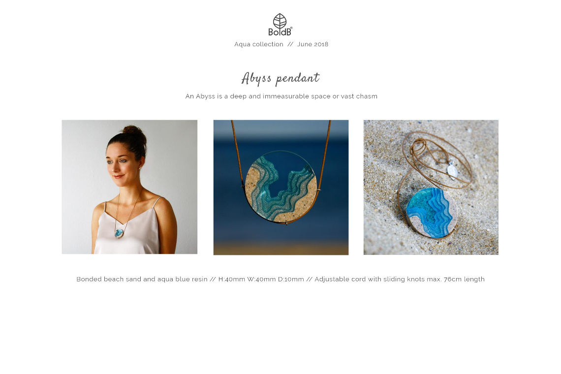 Wholesale jewellery catalogue - Abyss Necklace