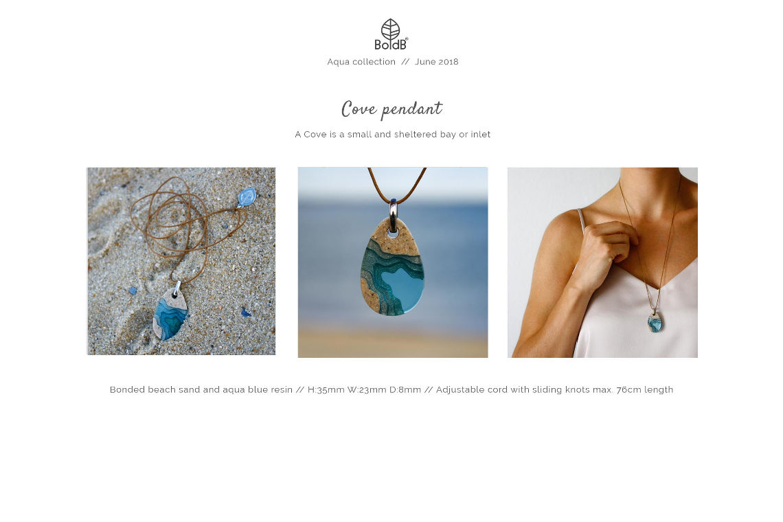 Wholesale jewellery catalogue - Cove Necklace
