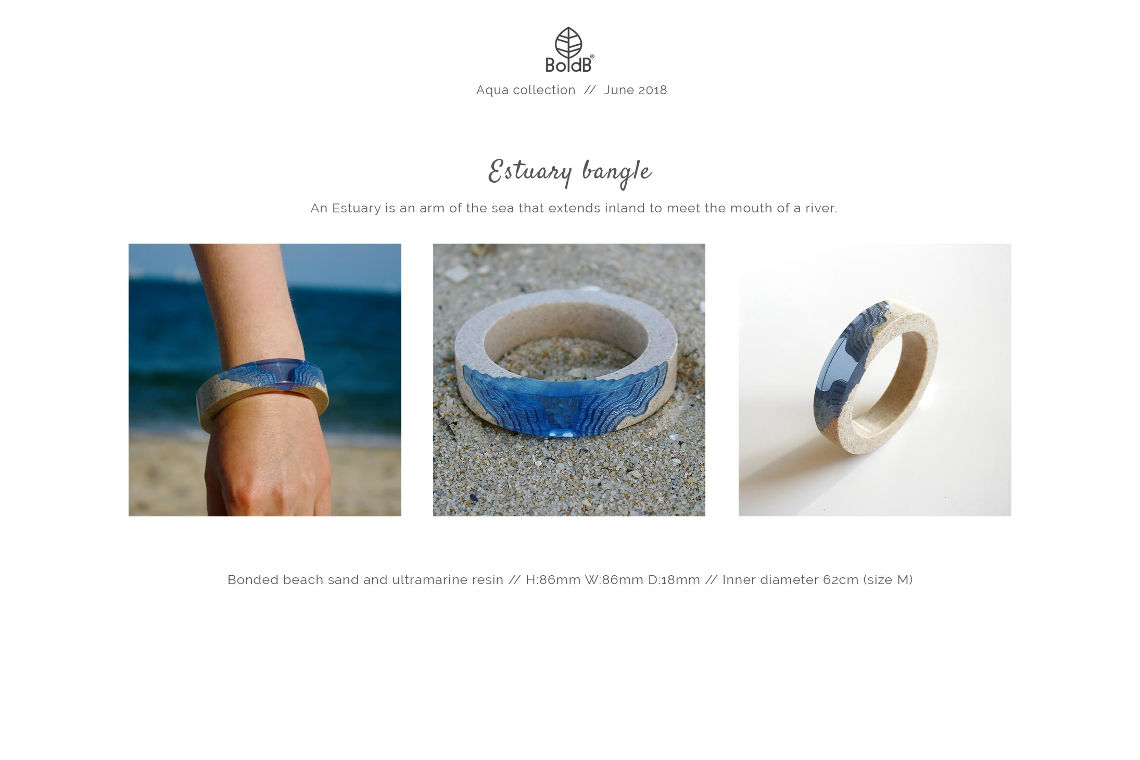 Wholesale jewellery catalogue - Estuary Bangle