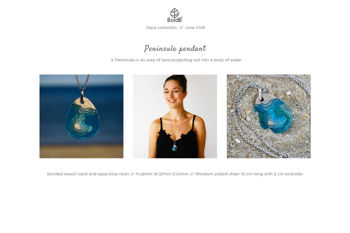 Wholesale jewellery catalogue - Peninsula Necklace